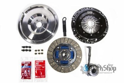 DKM Stage 2 clutch kit and single mass flywheel MB-034-142