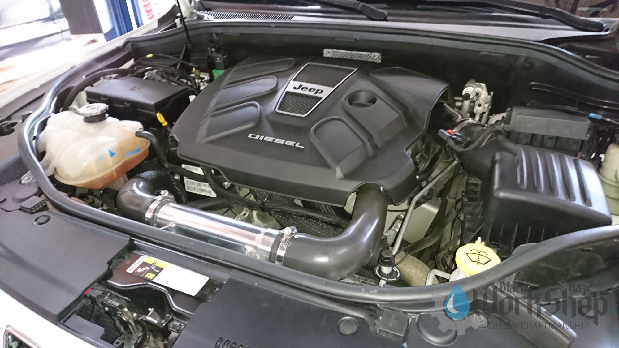 Jeep Cherokee WK2 3 0 Ecodiesel Performance boost pipe Silencer delete