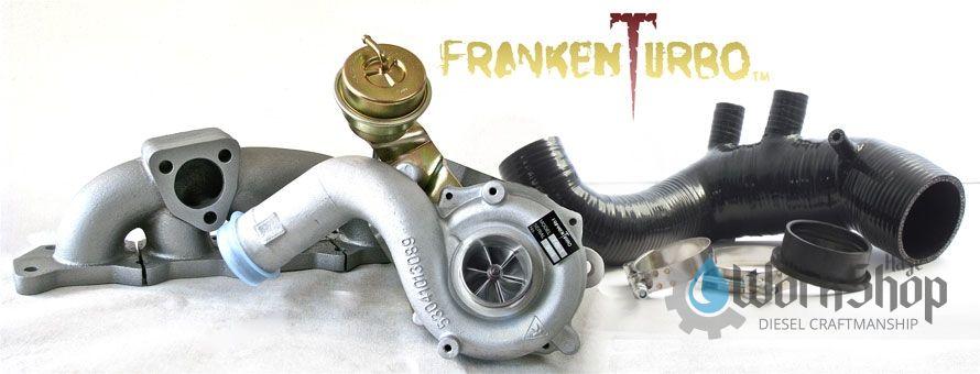 F21 Franken Turbo kit for Transversal 1 8t Volkswagen Audi Golf